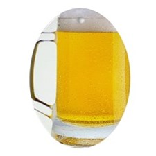 Beer Mug Ornament (Oval)