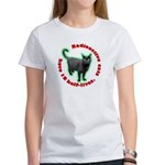 Radioactive Cat Women's T-Shirt