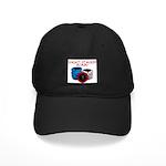Short Stacked Black Cap