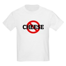 Anti CHEESE Kids T-Shirt