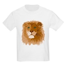 Realistic Lion Kids T-Shirt