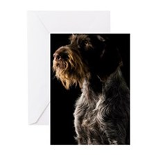 German Wirehaired Pointe Greeting Cards (Pk of 10)