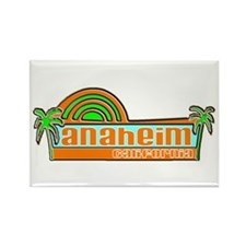 Unique Los angeles county Rectangle Magnet (10 pack)