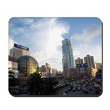 China, Shanghai, Urban Scene Mousepad