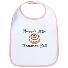 Mommys little Cinnamon Roll Bib