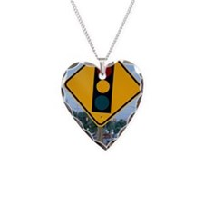 Traffic signal sign Necklace