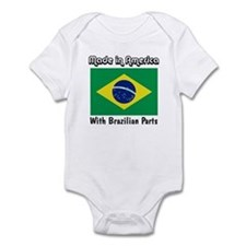 Brazilian Parts Infant Bodysuit
