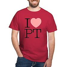 I Heart PT - T-Shirt