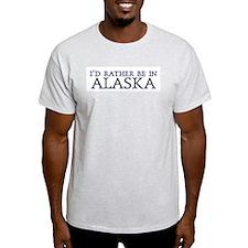 Rather Alaska Ash Grey T-Shirt