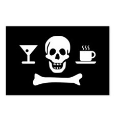 Beverage Jolly Roger Postcards (Package of 8)