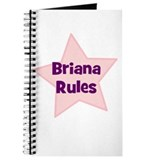 Briana Rules Journal