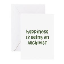 Happiness Is Being An ARCHIVI Greeting Cards (Pack