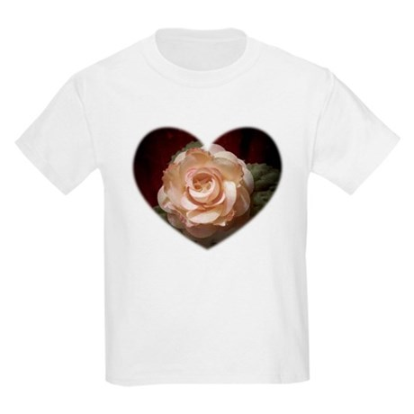 Peace Rose Kids T-Shirt