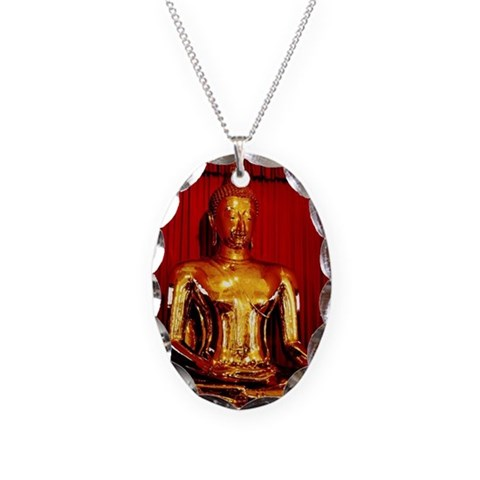 Golden Buddha statue, Temple o Necklace