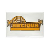 Cool Barbuda Rectangle Magnet (100 pack)