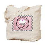 happy nurses week card pink Tote Bag