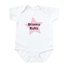 Brianna Rules Infant Bodysuit