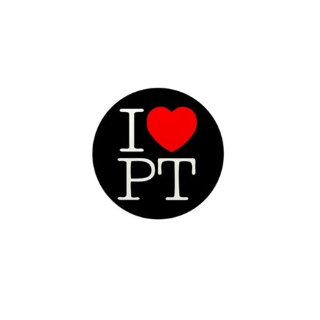 I Heart PT - Mini Button (10 pack)