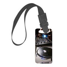 Turntable and mixing board Luggage Tag