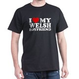 I Love My Welsh Boyfriend T-Shirt