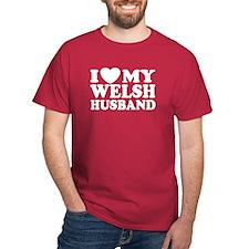 I Love My Welsh Husband T-Shirt