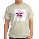Bryanna Rules Ash Grey T-Shirt