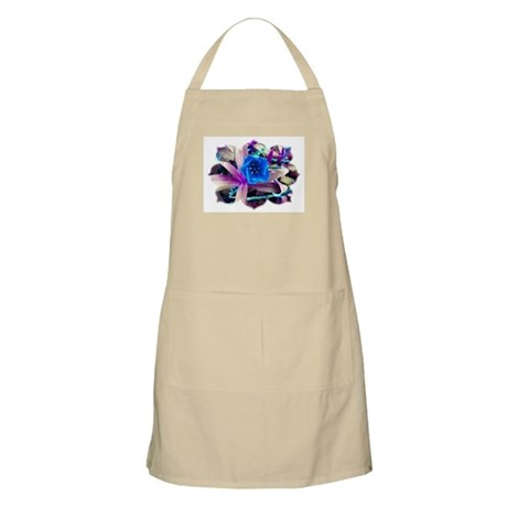 Blue Flower BBQ Apron