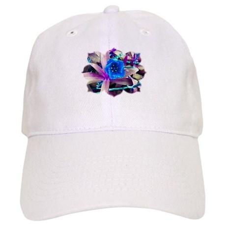 Blue Flower Cap