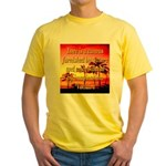 Love Is A Canvas Yellow T-Shirt