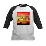 Love Is A Canvas Kids Baseball Jersey