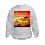 Love Is A Canvas Kids Sweatshirt