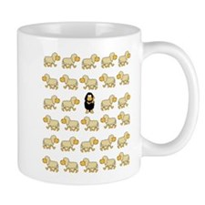 A Sheep with Attitude Small Mug
