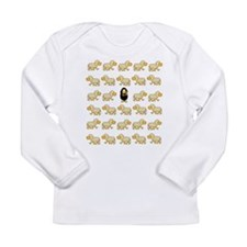 A Sheep with Attitude Long Sleeve T-Shirt