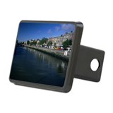 Buildings along River Liff Rectangular Hitch Cover