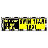 Swim Team Bumper Bumper Sticker