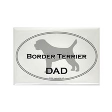 Border Terrier DAD Rectangle Magnet