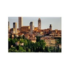 San Gimignano, Tuscany, Italy Rectangle Magnet