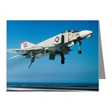 F-4 Phantom jet fighter taki Note Cards (Pk of 20)