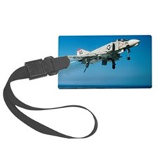 F-4 Phantom jet fighter taking o Luggage Tag