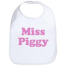 Miss Piggy Bib