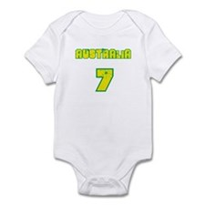 Australia Footy Infant Bodysuit