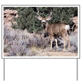 Mule Deer Yard Sign