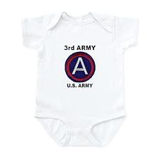 3RD ARMY Infant Bodysuit