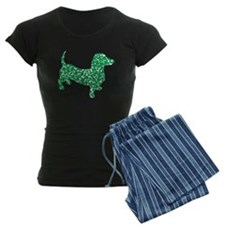 St. Patricks Day Dachshund Doxie Pajamas
