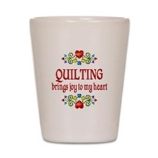 Quilting Joy Shot Glass
