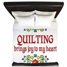 Quilting Joy King Duvet