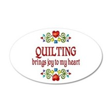 Quilting Joy Wall Decal