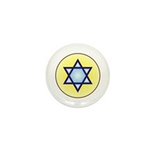 Jewish Star of David Mini Button (100 pack)