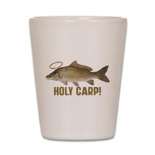 Holy Carp Shot Glass