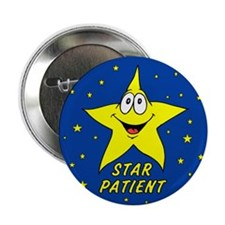 "Star Patient 2.25"" Button (100 pack)"